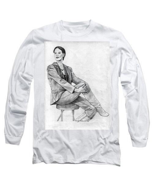 Model Long Sleeve T-Shirt