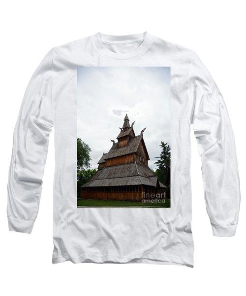 Moorhead Stave Church 26 Long Sleeve T-Shirt
