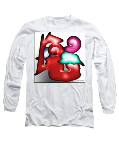 Long Sleeve T-Shirt featuring the digital art Mother And Child In The Daylight by George Pedro