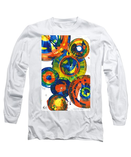 My Magical Spheres    859.121811 Long Sleeve T-Shirt by Kris Haas