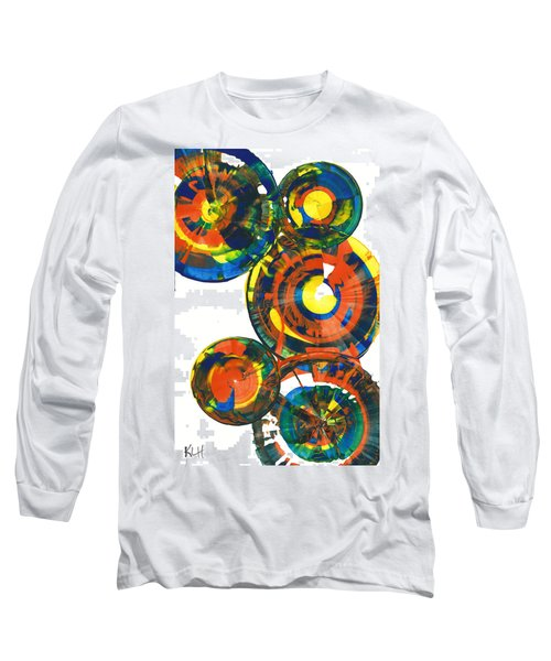 My Spheres Show Happiness  864.121811 Long Sleeve T-Shirt by Kris Haas