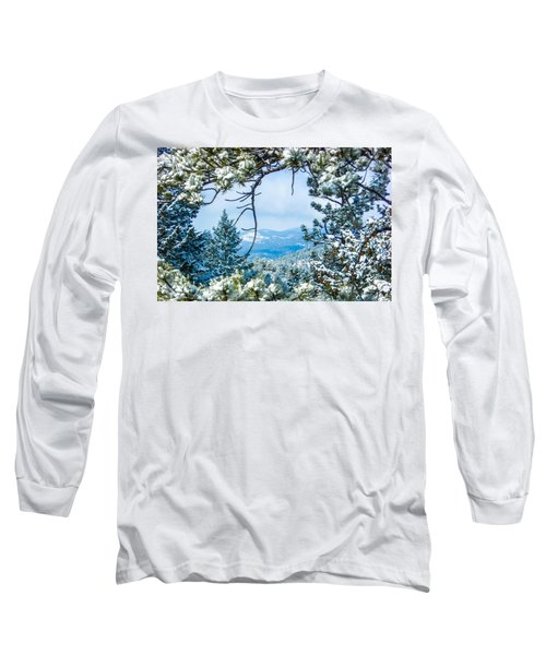 Long Sleeve T-Shirt featuring the photograph Natural Wreath by Shannon Harrington