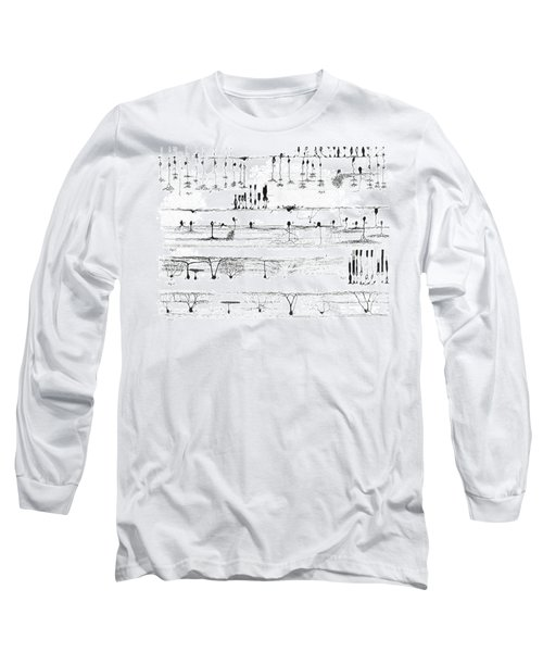 Nerve Structure Of The Retina Long Sleeve T-Shirt