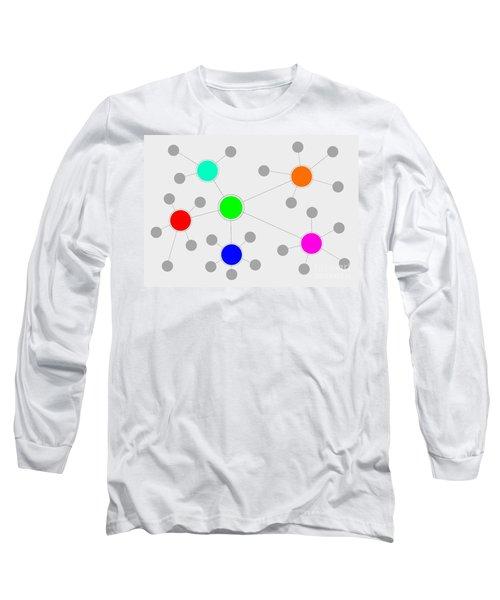 Network Long Sleeve T-Shirt by Henrik Lehnerer
