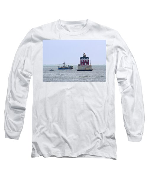 New London Ledge Lighthouse. Long Sleeve T-Shirt