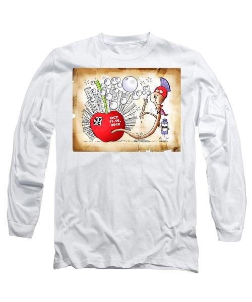 New York Comic Con 2012 Long Sleeve T-Shirt