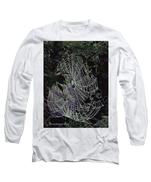 Night Lines Long Sleeve T-Shirt by EricaMaxine  Price