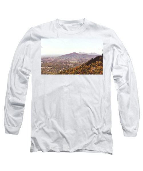 North Caolina Pilot Mountains Long Sleeve T-Shirt