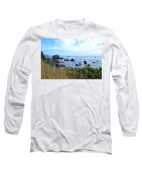 Long Sleeve T-Shirt featuring the photograph Northern California Coast2 by Zawhaus Photography