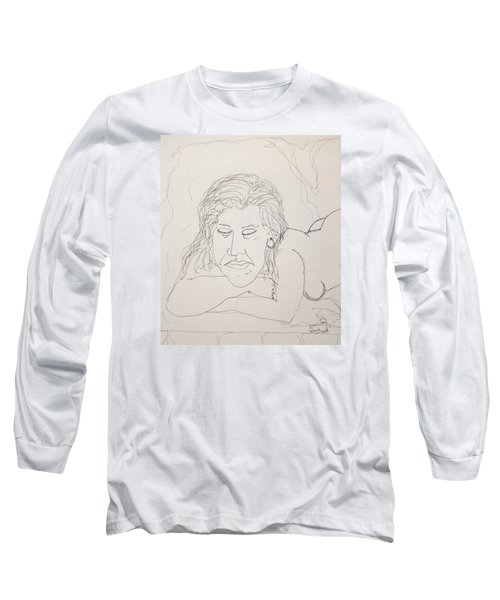 Nude Contour In Ink Long Sleeve T-Shirt