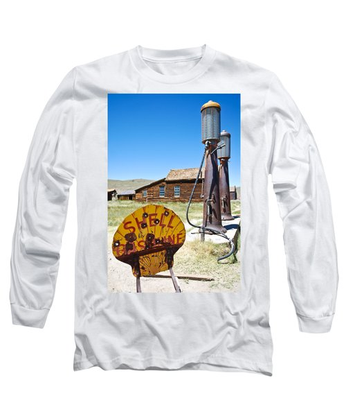 Old Gas Pumps Long Sleeve T-Shirt