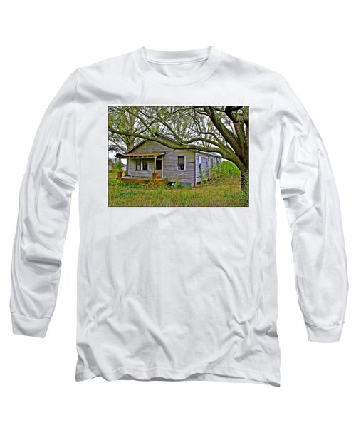 Old Gray House Long Sleeve T-Shirt by Judi Bagwell