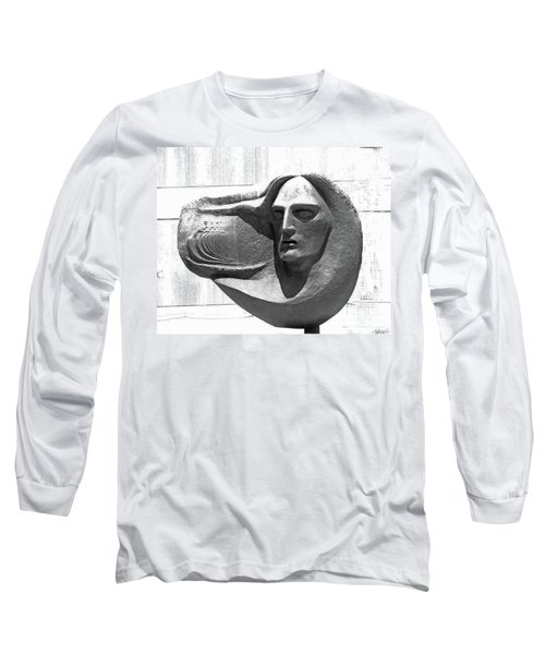 Oliver Pollock Statue  Long Sleeve T-Shirt