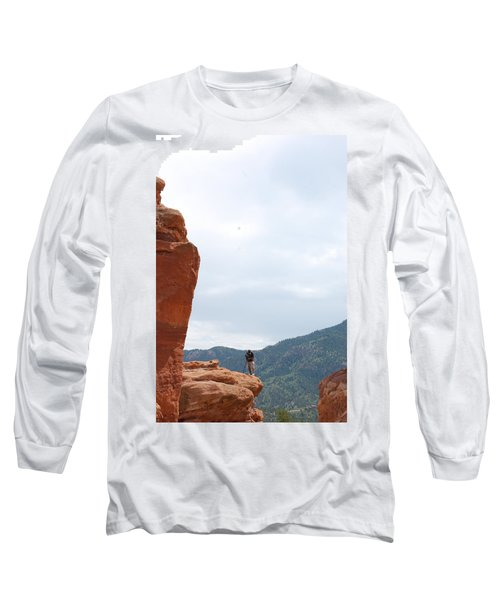 Only A Photographer Would Do.. Long Sleeve T-Shirt by Randy J Heath