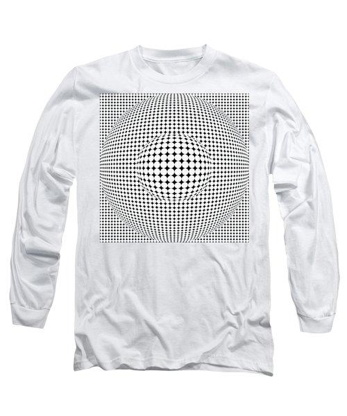 Optical Illusion Ball In Ball Long Sleeve T-Shirt