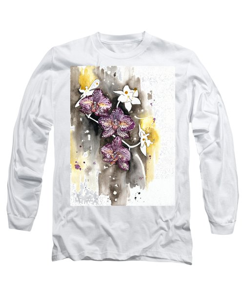 Orchid 13 Elena Yakubovich Long Sleeve T-Shirt