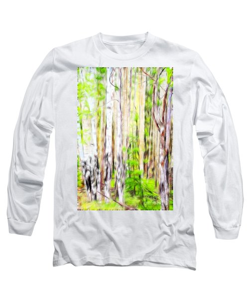 Out Of One Many Fractal Long Sleeve T-Shirt