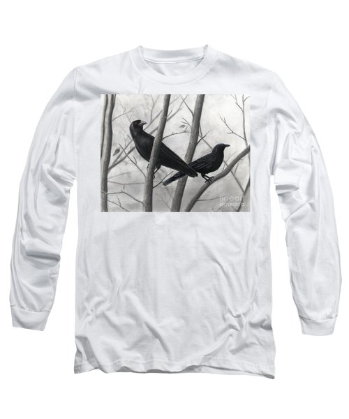 Pair Of Crows Long Sleeve T-Shirt