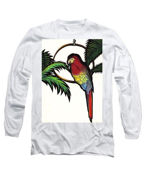 Parrot Shadows Long Sleeve T-Shirt
