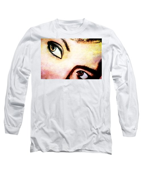 Long Sleeve T-Shirt featuring the photograph Passionate Eyes by Ester  Rogers