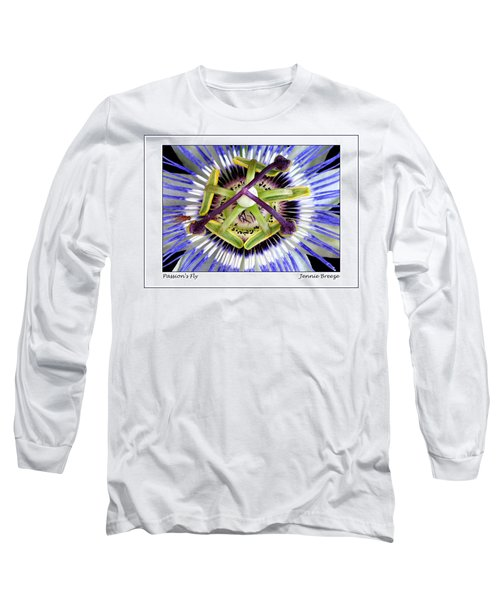 Long Sleeve T-Shirt featuring the photograph Passion's Fly by Jennie Breeze