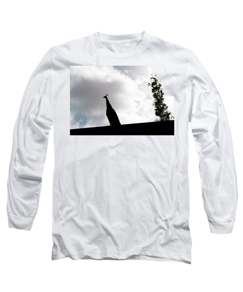 Peacock Sentry Long Sleeve T-Shirt