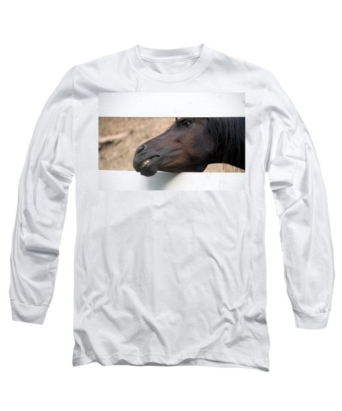 Peek A Boo Long Sleeve T-Shirt