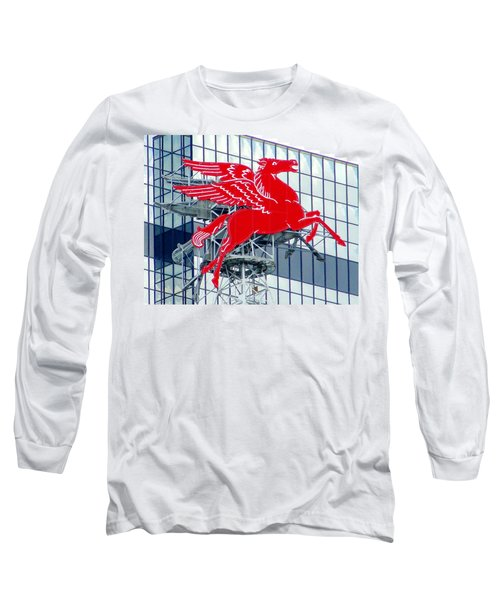 Pegasus Long Sleeve T-Shirt by Charlie and Norma Brock