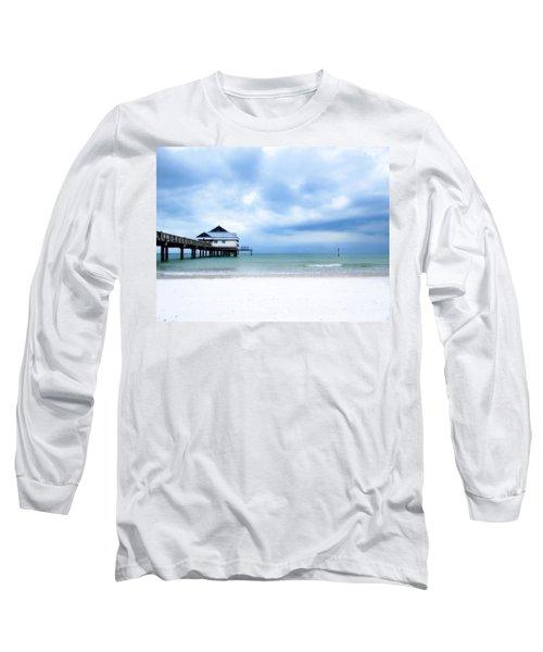 Pier 60 At Clearwater Beach Florida Long Sleeve T-Shirt