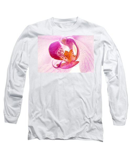 Pink Phalaenopsis Long Sleeve T-Shirt