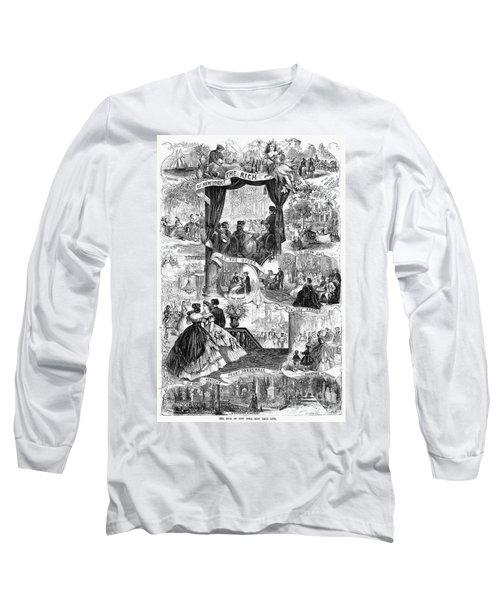Poor New York, 1865 Long Sleeve T-Shirt