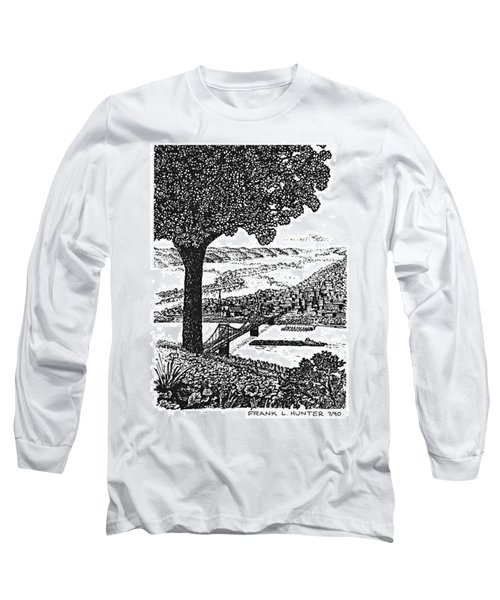 Portsmouth Ohio From A Kentucky Hill Long Sleeve T-Shirt