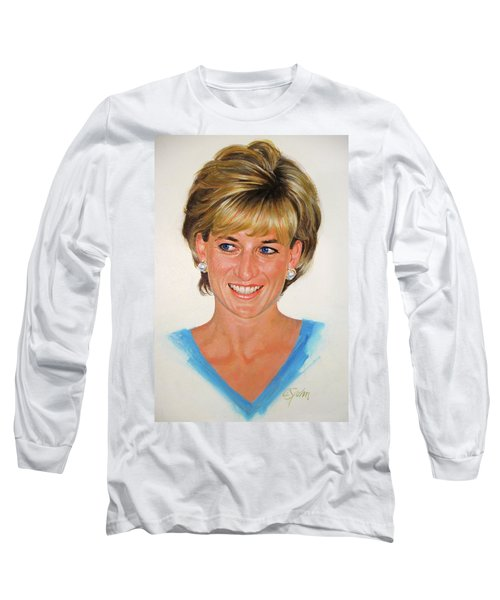 Princess Diana Long Sleeve T-Shirt