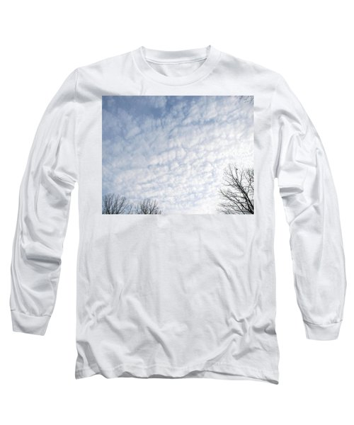 Long Sleeve T-Shirt featuring the photograph Reaching The Clouds by Pamela Hyde Wilson