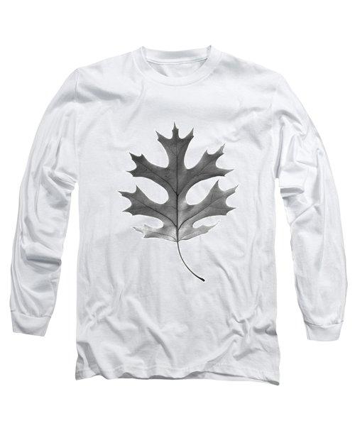 Red Oak Leaf Long Sleeve T-Shirt