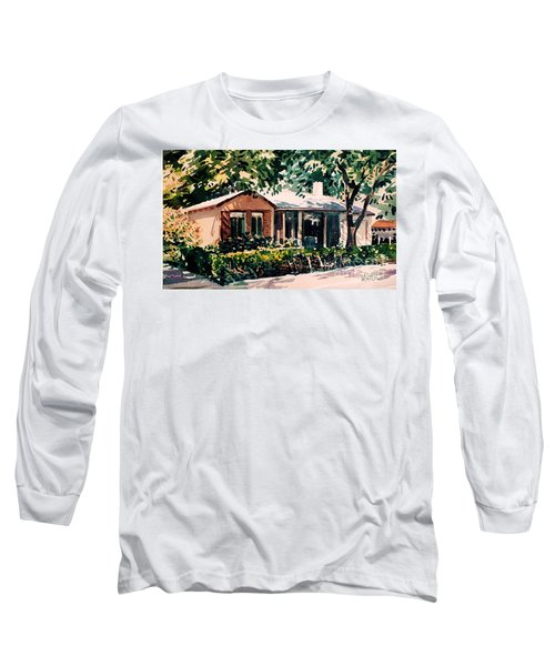 Long Sleeve T-Shirt featuring the painting Redwood City #4 by Donald Maier