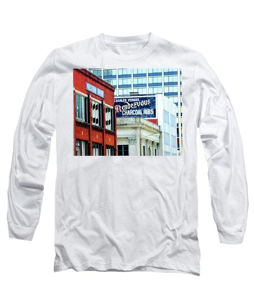 Long Sleeve T-Shirt featuring the photograph Rendezvous by Lizi Beard-Ward