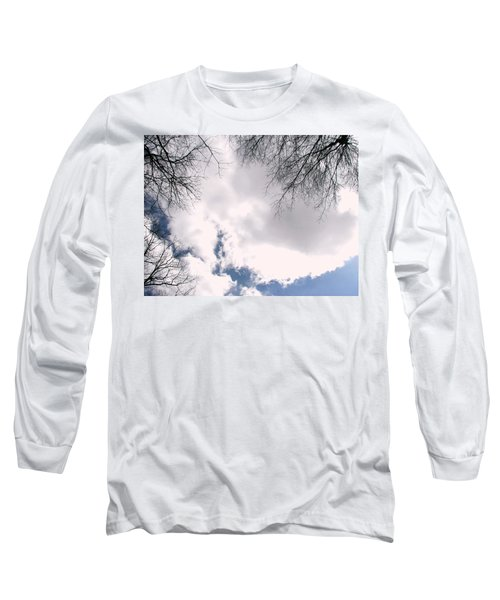 Long Sleeve T-Shirt featuring the photograph River In The Sky by Pamela Hyde Wilson