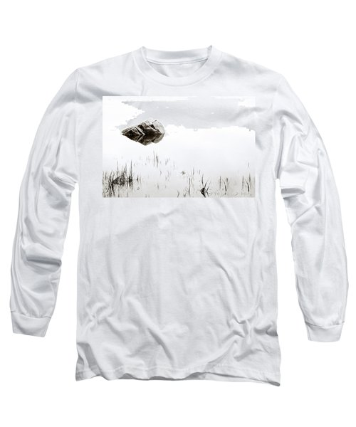 Rock In The Water Long Sleeve T-Shirt