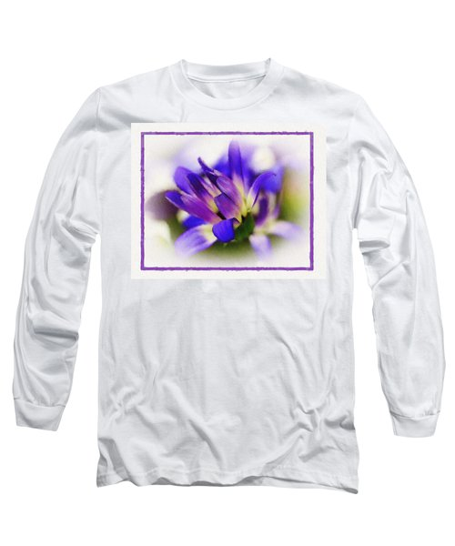 Royal Purple Long Sleeve T-Shirt by Judi Bagwell