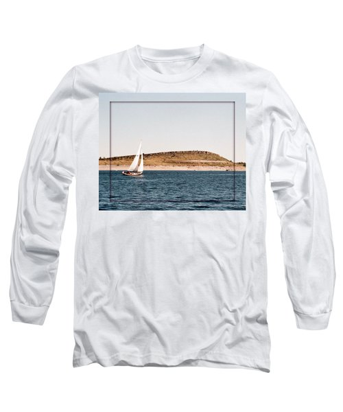 Long Sleeve T-Shirt featuring the photograph Sailing On Carter Lake by David Pantuso