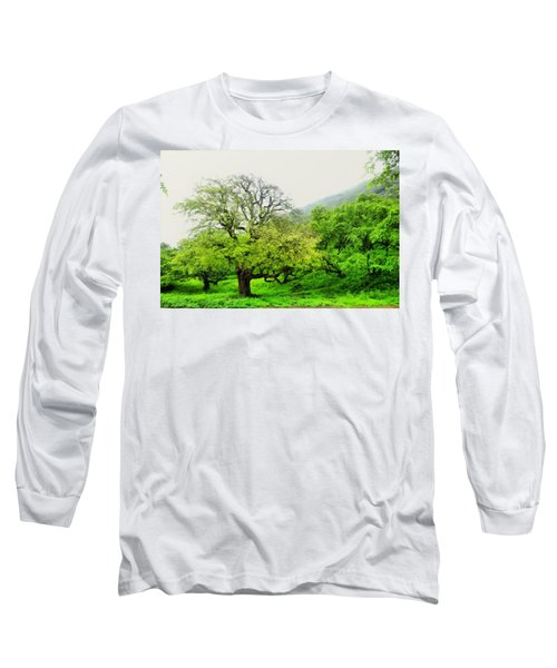 Salalah Green Long Sleeve T-Shirt