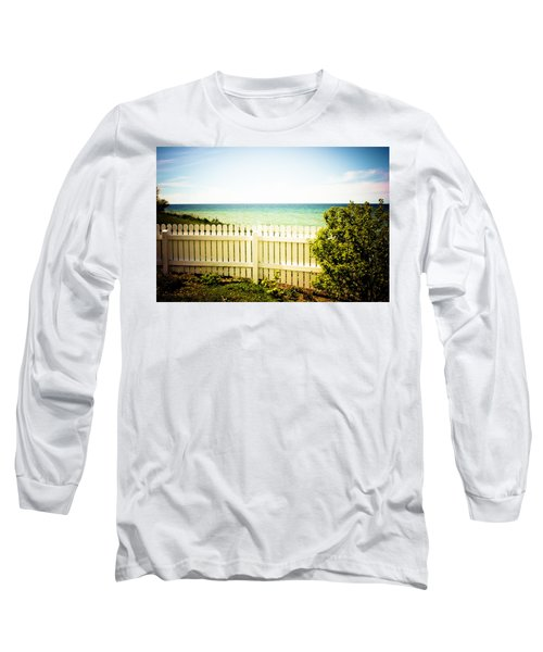 Seaside Retreat Long Sleeve T-Shirt by Sara Frank