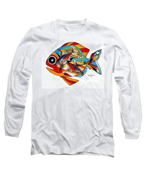 Seven Fish Long Sleeve T-Shirt