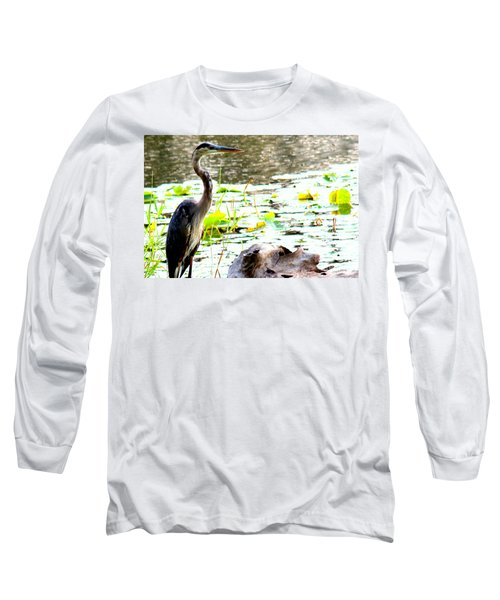 Long Sleeve T-Shirt featuring the photograph Silent Solitude by Kathy  White