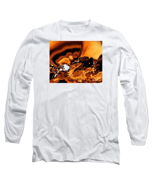Solar Flare Long Sleeve T-Shirt by Rebecca Margraf