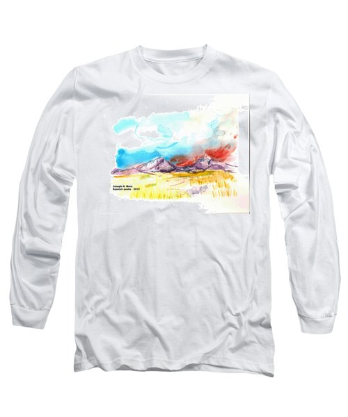 Spanish Peaks Study Long Sleeve T-Shirt