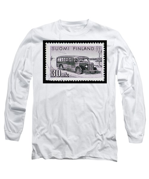 Long Sleeve T-Shirt featuring the photograph Speedy Old Bus by Andy Prendy