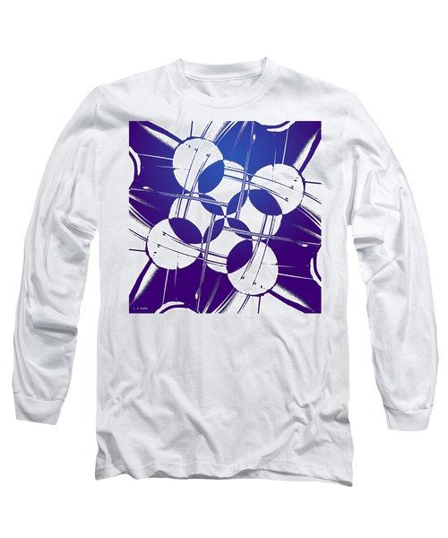 Square Circles Long Sleeve T-Shirt