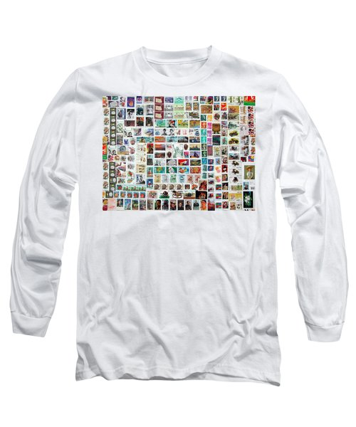 Stamparely Long Sleeve T-Shirt by Anna Ruzsan